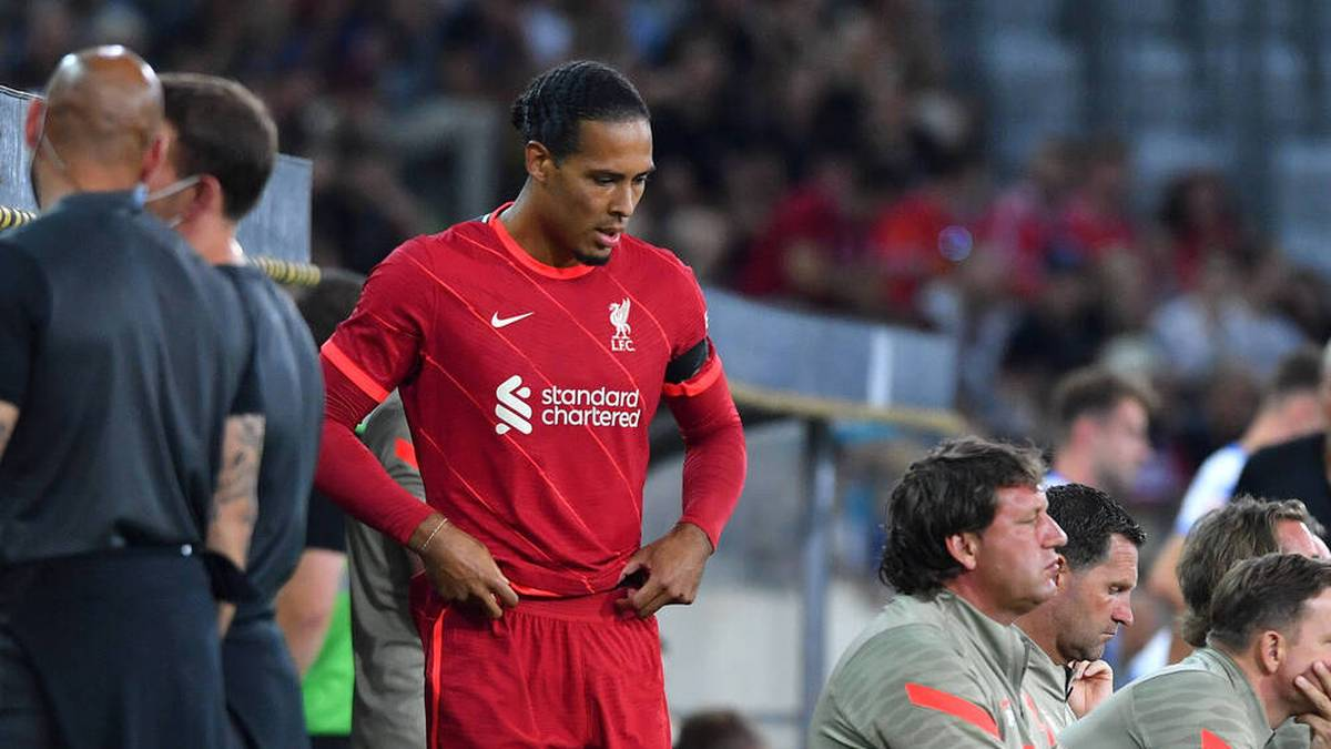 Virgil van Dijk feiert sein Comeback beim FC Liverpool