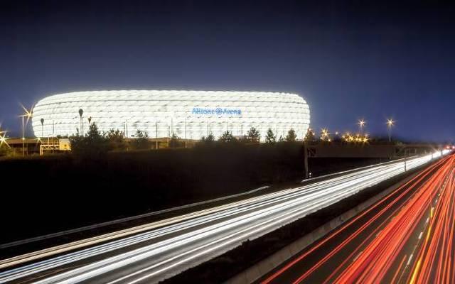 Die Allianz Arena ist mit mehr als 300.000 LEDs ausgestattet