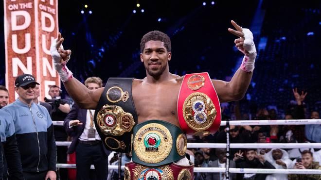 Anthony Joshua ist Schwergewichts-Weltmeister von vier Verbänden