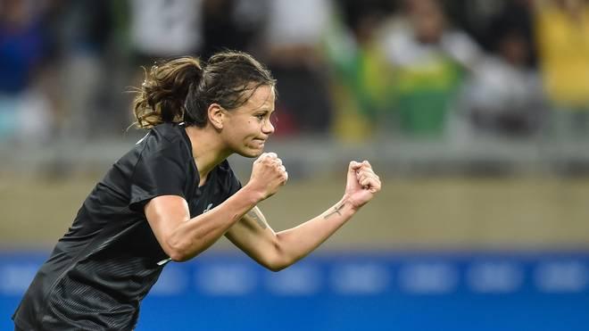 Amber Hearn ist Superstar der neuseeländischen Frauen-Nationalmannschaft