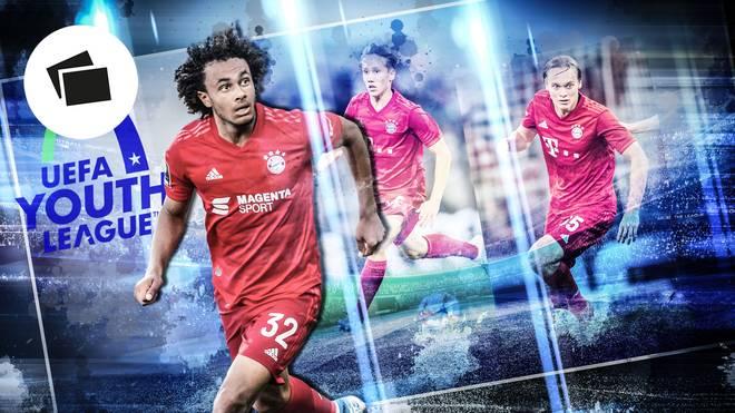 Youngster in der U19 des FC Bayern für die UEFA Youth League