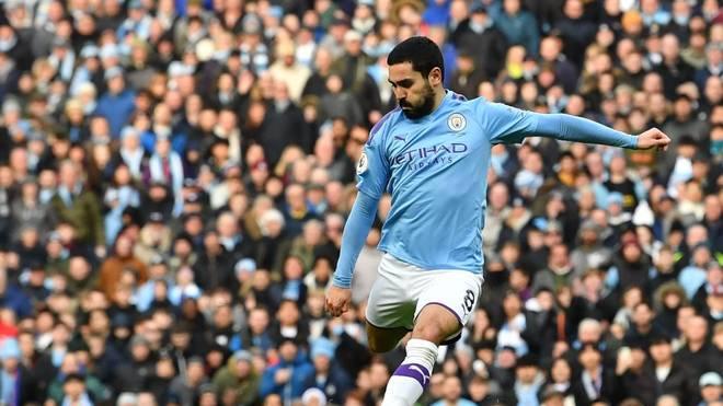 Ilkay Gündogan und Manchester City müssen gegen West Ham zum Nachholspiel antreten