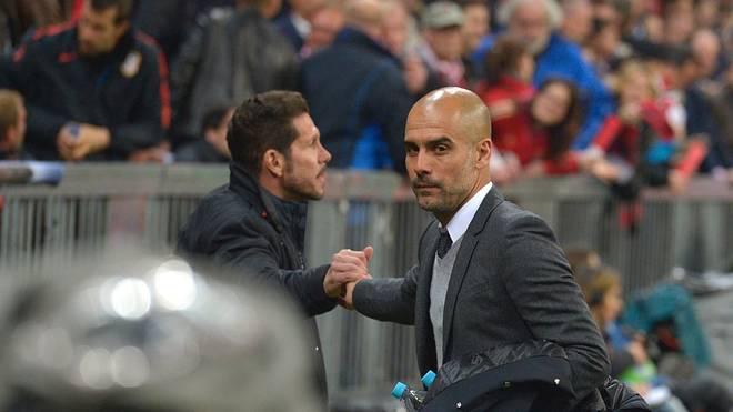 Pep Guardiola ist nicht Top-Verdiener, was die Trainer angeht. Diego Simeone kassiert fast doppel soviel