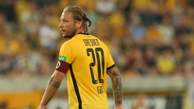 Patrick Ebert ist Kapitän bei Dynamo Dresden
