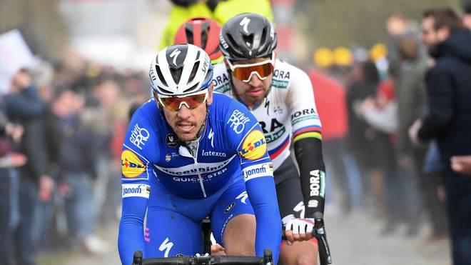 Tour de France 2019: Philippe Gilbert fehlt im Quick-Step-Aufgebot, Der Belgier Philippe Gilbert (links) wurde nicht für die Tour de France nominiert