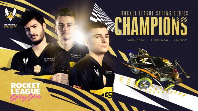 Renault Vitality nimmt erfolgreich Revanche an Dignitas und gewinnt die Rocket League Spring Series Europe