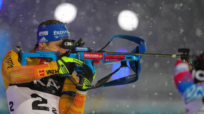 Simon Schempp gibt sein Saisondebüt im Weltcupteam