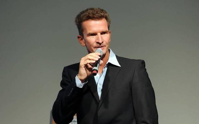 Michael Gross im Jahr 2013 auf der Frankfurter Buchmesse