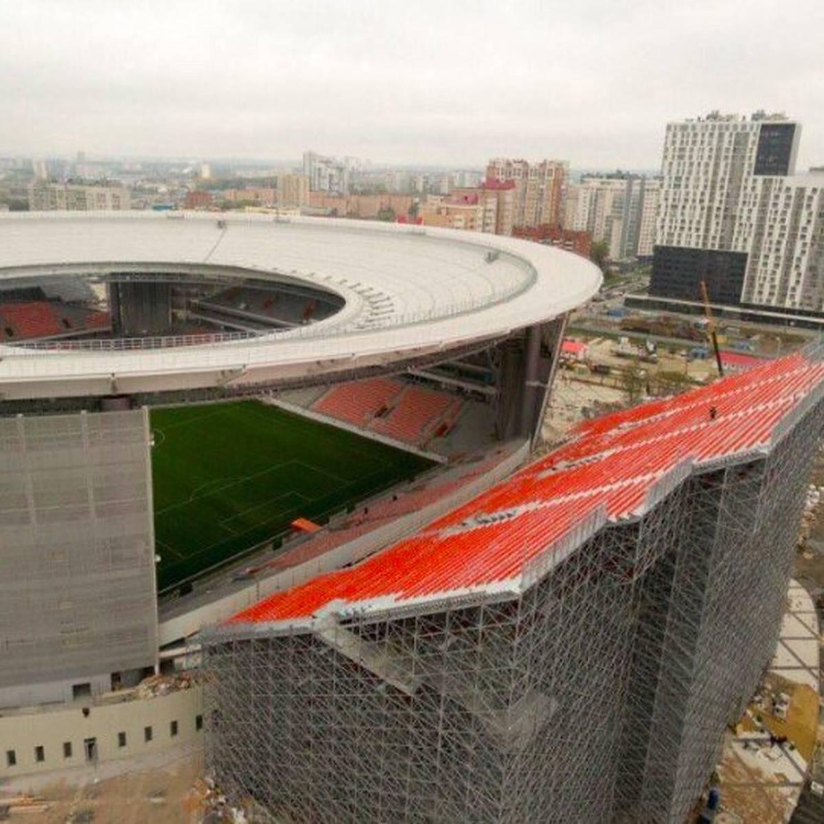 Wm In Russland Ungewohnliche Tribunen Fur Stadion In