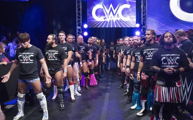 Die Teilnehmer des WWE Cruiserweight Classic wurden in einer Parade präsentiert