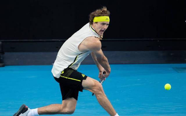 Alexander Zverev trifft bei den Australian Open auf Novak Djokovic