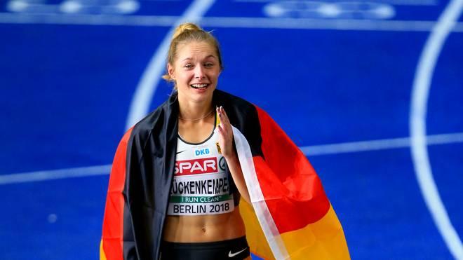 Auch Sprint-Star Gina Lückenkemper ist bei den Finals in Berlin am Start