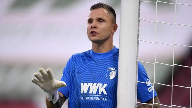 Augsburgs Schlussmann Rafal Gikiewicz kam im Sommer von Union Berlin