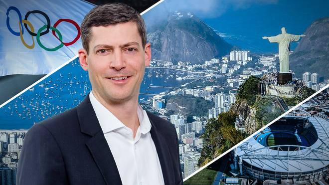Julian Meißner berichtet für SPORT1 von Olympia 2016 aus Rio de Janeiro
