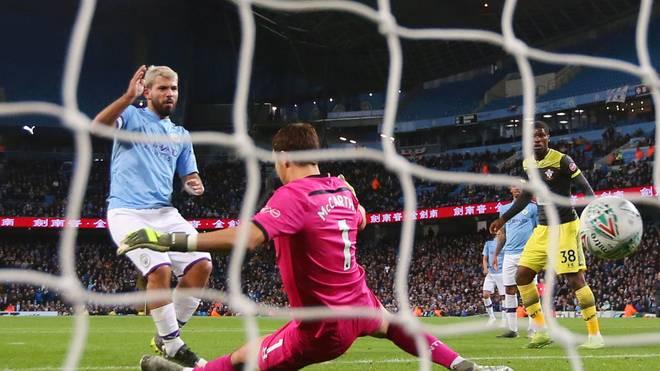 Manchester City ließ gegen den FC Southampton nichts anbrennen