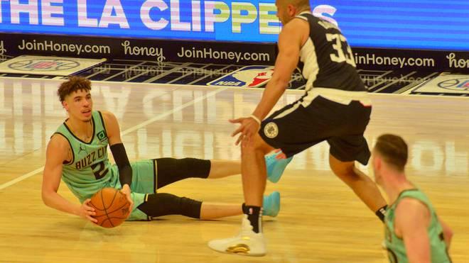 LaMelo Ball hatte sich im Spiel gegen die Los Angeles Clippers verletzt
