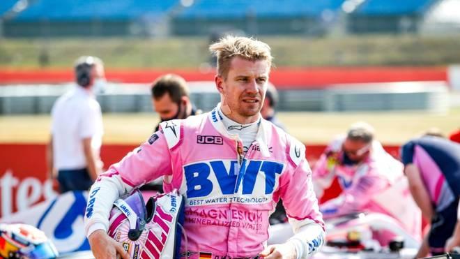 Nico Hülkenberg wird Ersatzfahrer bei Aston Martin