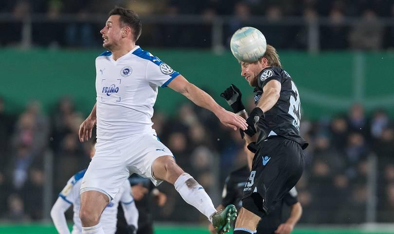 Pokalschreck Sportfreunde Lotte eröffnen am zweiten Abend des DFB-Pokal-Achtelfinals gegen die in der Liga formschwachen Sechziger
