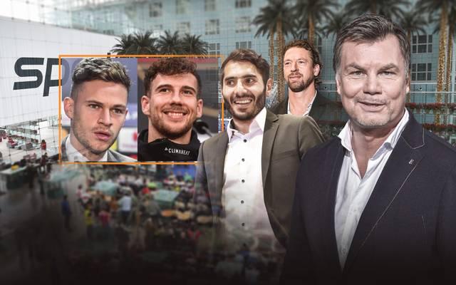 Leon Goretzka und Joshua Kimmich kommen am Sonntag in den CHECK24 Doppelpass auf SPORT1