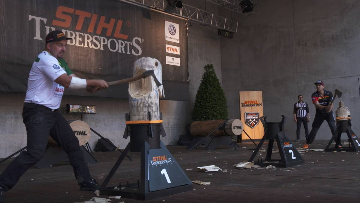"Timbersports-Vizemeister Mahr: ""Härtestes Rennen in Europa"""
