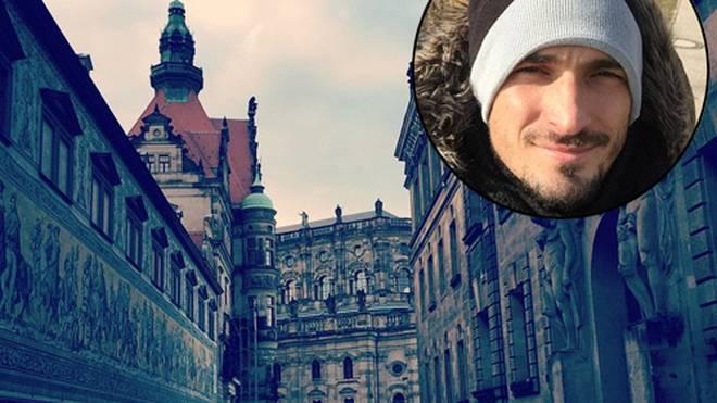 Dieses schöne Foto ist Mats Hummels in Dresden gelungen.