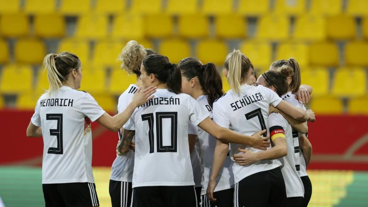DFB-Frauen mühen sich zu Sieg