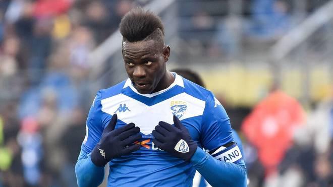 Mario Balotelli stand zuletzt bei Brescia Calcio unter Vertrag, seit dem Sommer ist er aber vereinslos