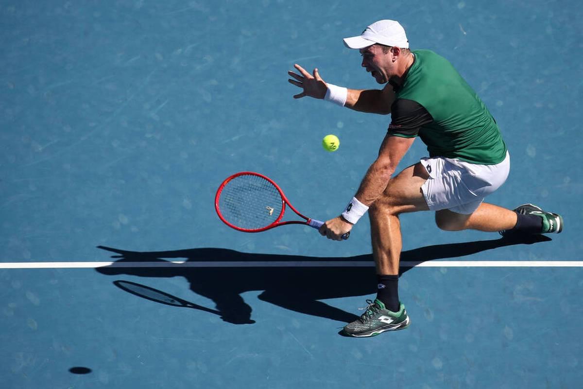 Tennisprofi Dominik Koepfer ist beim ATP-Turnier in Wien in der ersten Runde ausgeschieden.