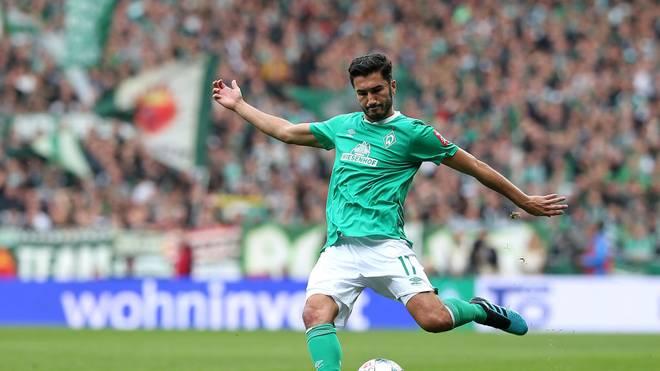Nuri Sahin spielt seit 2018 bei Werder Bremen