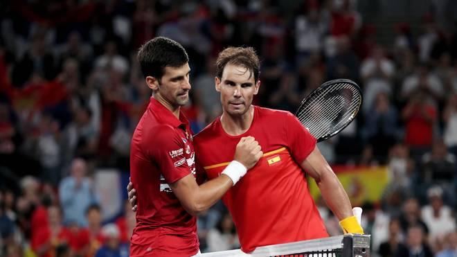 Novak Djokovic und Rafael Nadal sind beim Impf-Thema nicht einer Meinung