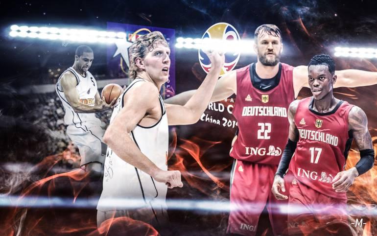 Nach einer längeren Durststrecke will die deutsche Basketball-Nationalmannschaft bei der Weltmeisterschaft in China wieder für Furore sorgen. Die einzige WM-Medaille holte das DBB-Team 2002 mit Bronze. Hat das aktuelle Team ähnliches Potenzial? SPORT1 macht den Vergleich