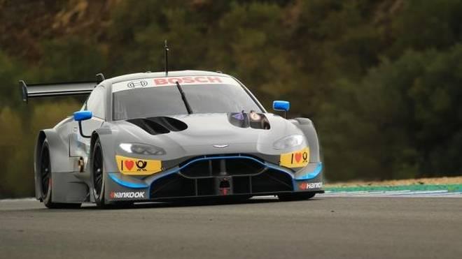 Noch hat Aston Martin einen ordentlichen Testrückstand auf Audi und BMW