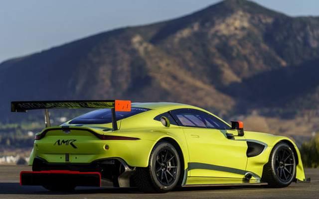 Der brandneue Aston Martin Vantage GTE gibt im Mai in Spa sein Renndebüt