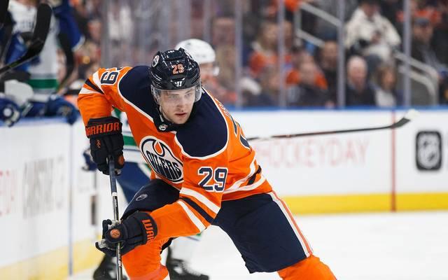 Leon Draisaitl trägt seit 2014 das Trikot der Edmonton Oilers