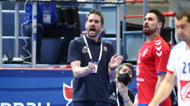 Ex-Nationalspieler Guillaume Gille ist Trainer der Franzosen