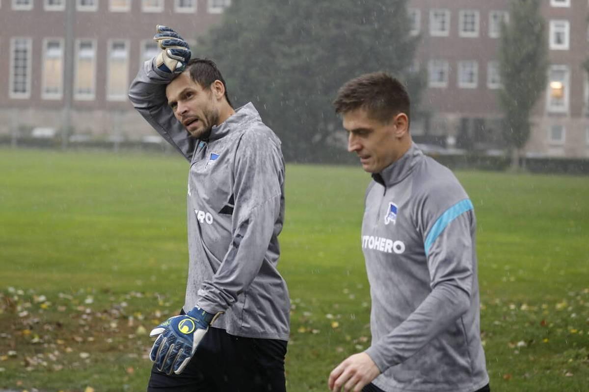 Rune Jarstein hat nach einer Corona-Infektion einiges durchgemacht. Der Torhüter von Hertha BSC erlebte bange Momente und musste sich in Geduld üben.