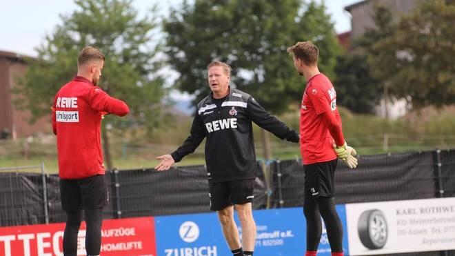Beim 1. FC Köln wird weiterhin Timo Horn im Tor stehen