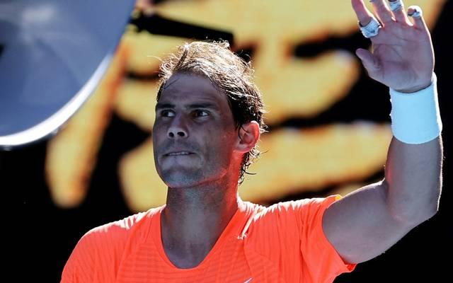 Souveräner Erstrundensieg für Rafael Nadal