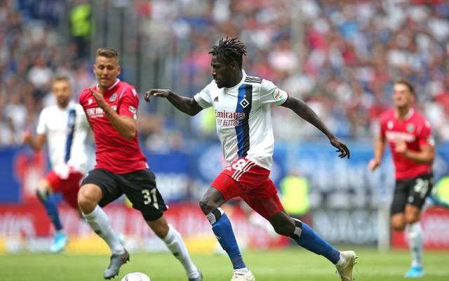 Der Hamburger SV gastiert in Hannover