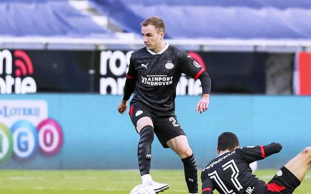 Mario Götze steht seit Sommer 2020 bei PSV Eindhoven unter Vertrag