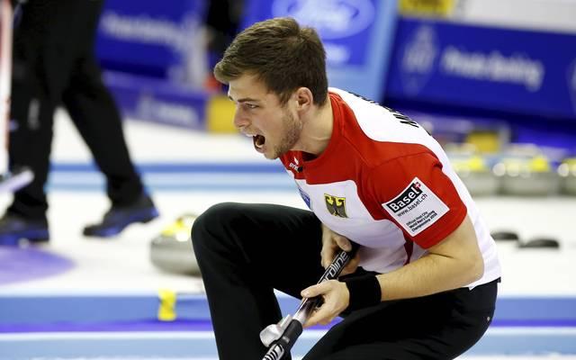 Curling-EM in Tallin: Deutsche Männer im Halbfinale - Frauen gegen Schweden, Curling-EM: Deutsche Männer um Skip Marc Muskatewitz im Halbfinale