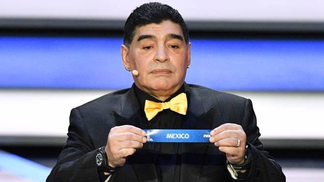 Diego Maradona hält auch Mexiko für keinen geeigneten WM-Gastgeber