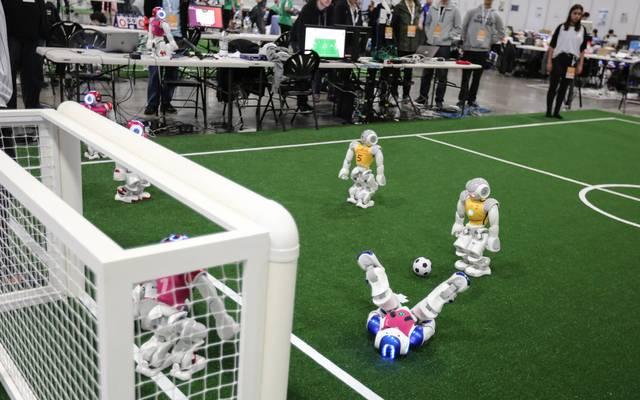 RoboCup-Weltmeisterschaft: Uni Bonn gewinnt WM der Fußball-Roboter