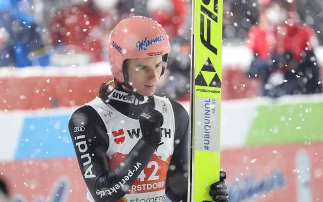 Karl Geiger gewann bei der WM-Entscheidung im Skispringen von der Großschanze in Oberstdorf nach einer Steigerung im zweiten Durchgang noch Edelmetall