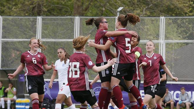 Die DFB-Juniorinnen siegten souverän gegen England