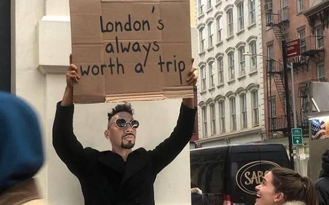Jérome Bôateng verpasste den Londoner Klubs auf Instagram einen kleinen Seitenhieb