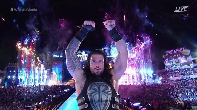 Roman Reigns besiegte im Hauptkampf von WWE WrestleMania 33 den Undertaker