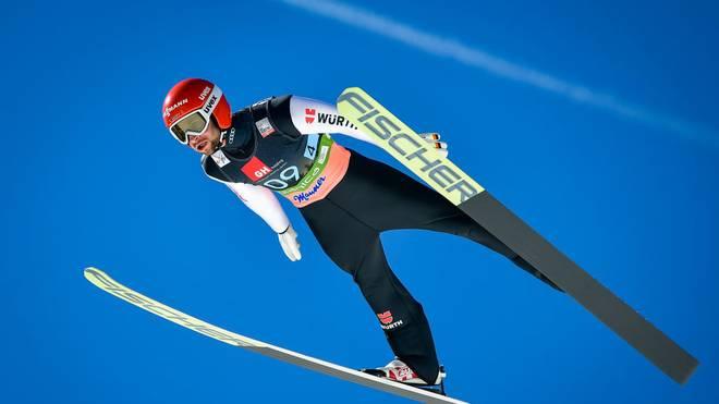 Markus Eisenbichler war in der vergangenen Saison der beste deutsche Skispringer