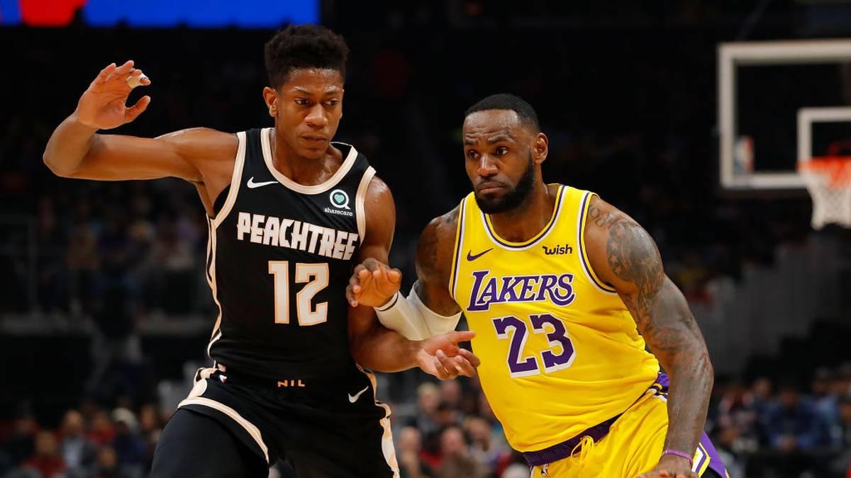 Nach Überraschung für Sohn - LeBron brilliert für Lakers