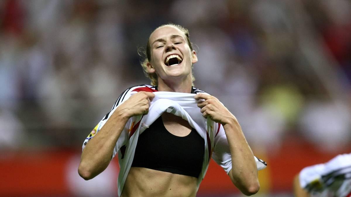 Besonders in Erinnerung geblieben ist Laudehrs entscheidendes Tor zum 2:0 im WM-Finale 2007 gegen Brasilien - und der dazugehörige Jubel